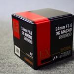 【mį】SIGMA 24mm F1.8 EX DG ASPHERICAL MACROを買った