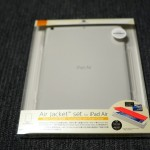 【mį】AIR JACKET® This set is for iPad AirとCRYSTAL ARMOR™ for iPad Air with FussoでiPad Airを守る