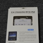 【mį】5in1 Connection Kit for iPadで画像取り込みを楽に♬