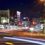【mį】函館大門横丁のイベント、大門バルのポスター写真を依頼された!!