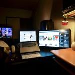 【mį】部屋のパソコンデスク環境模様替え♬