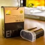 【mį】ニコンD7000のバッテリーEN-EL15を追加