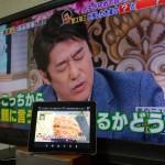 【mį】TV分配器でようやくTVでTVを見れるようになった(笑)