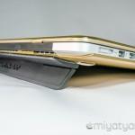 【mį】MacBookの角度調整と放熱性を上げる為のフリップスタンドを装着した!!