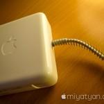 【mį】MacBook Pro (Retina, Mid 2012)のApple 85W MagSafe 2電源アダプタが断線して充電出来なくなったので買い換えてバネを入れて強化した!!