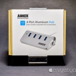 【mį】MacにAnker USB 3.0 アルミ製高速4ポートハブを増設