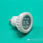 【mį】LEDスポットライトをお店の照明に追加した!!