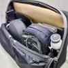 【mį】ひらくPCバッグ内整理にELECOMのマルチ収納ポーチ(AC収納タイプ) BMA-GP10を追加した