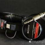 【mį】モニターヘッドフォンSONY MDR-CD900STを購入♬