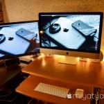 【mį】Mini DisplayPoet HDMI変換ケーブルでiMacをデュアルモニター化
