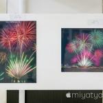 【mį】2016年 函館海上冬花火写真展 in 棒二森屋を見に行って来ました♬