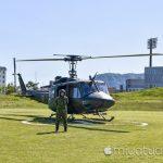【mį】第28普通科連隊函館駐屯地陸上自衛隊UH-1Jに乗って函館空撮をして来た!!