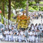 【mį】函館八幡宮例大祭 2年に1度の神輿の石段かけのぼり