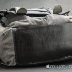 【mį】バッグ修理屋さんでバックパックの底にレザーを貼って貰った!!