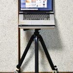 【mį】サンコー カメラ三脚用ノートPCデスク CLHCMAL2を購入♬
