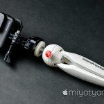 【mį】GoPro クイックリリース三脚マウント 1/4カメラネジの規格を買った